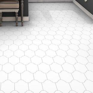 Abrique Provenzal 6.38 x 12.88 Porcelain Field Tile in Basic White