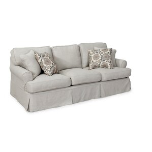 August Grove Callie T-Cushion Sofa Slipcover Set
