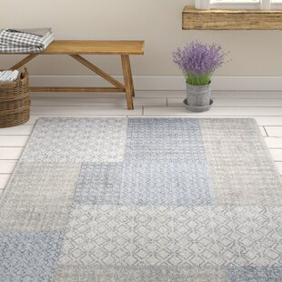 Clearman Modern White/Light Gray Area Rug By Gracie Oaks