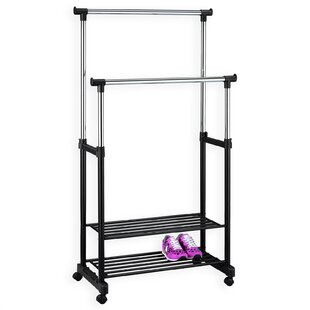 Nelma 81cm Wide Clothes Rack By Symple Stuff
