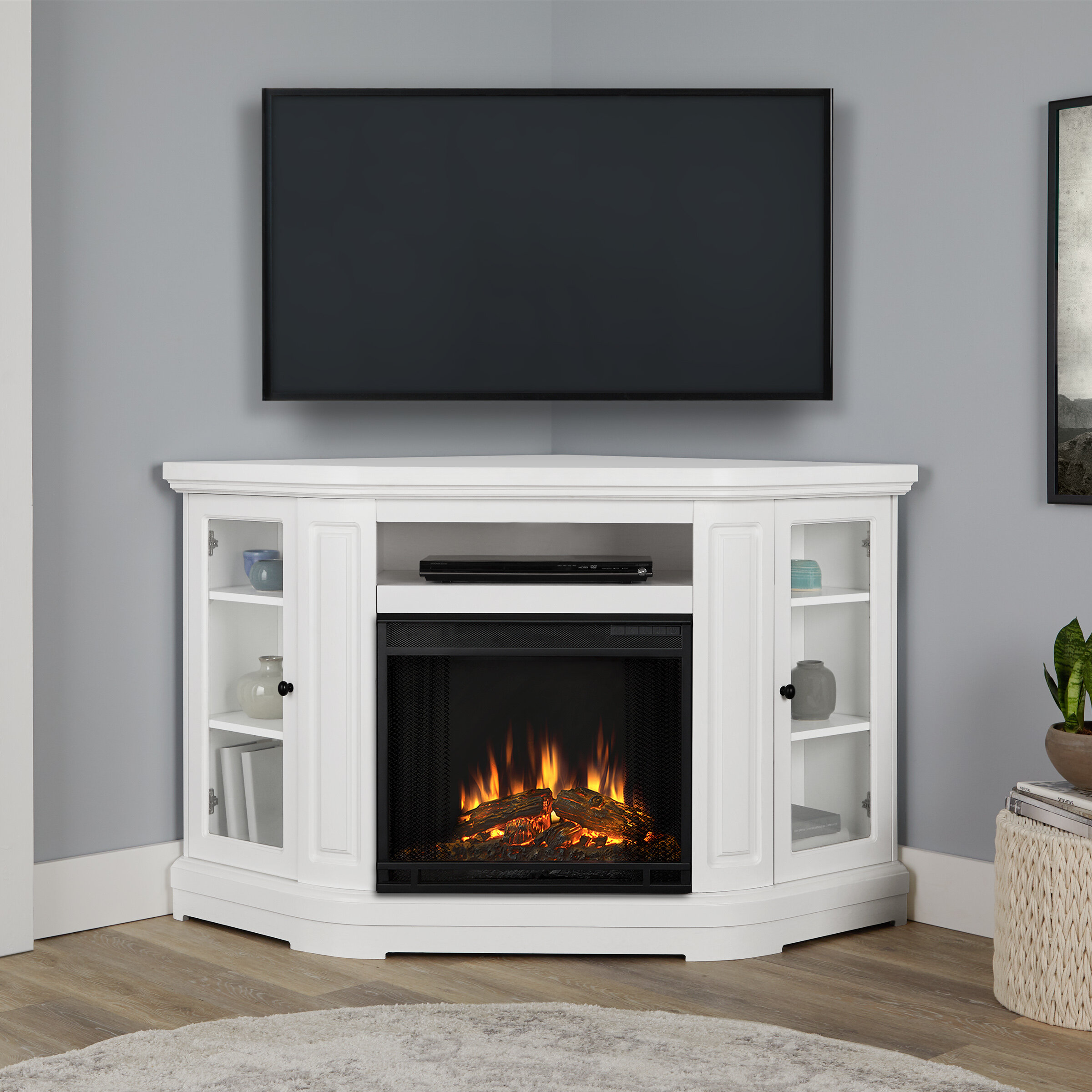 Real Flame Windom Corner Media Electric Fireplace Reviews