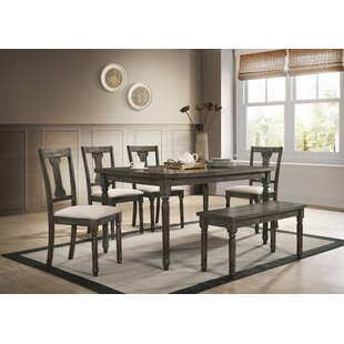 Neal 6 Piece Dining Set Gracie Oaks