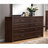 Cogbill 8 Drawer Double Dresser by Red Barrel Studio®