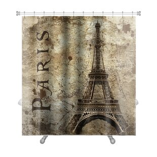 Order Skyline Vintage View of Paris on the Grunge Premium Shower Curtain By Gear New