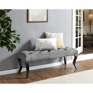 Charlton Home Madiun Upholstered Bench