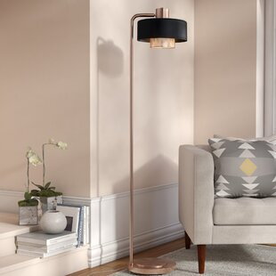 Compare Bacote 60 Arched Floor Lamp By Mercury Row