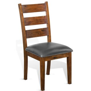 Padilla Solid Wood Dining Chair by Loon Peak
