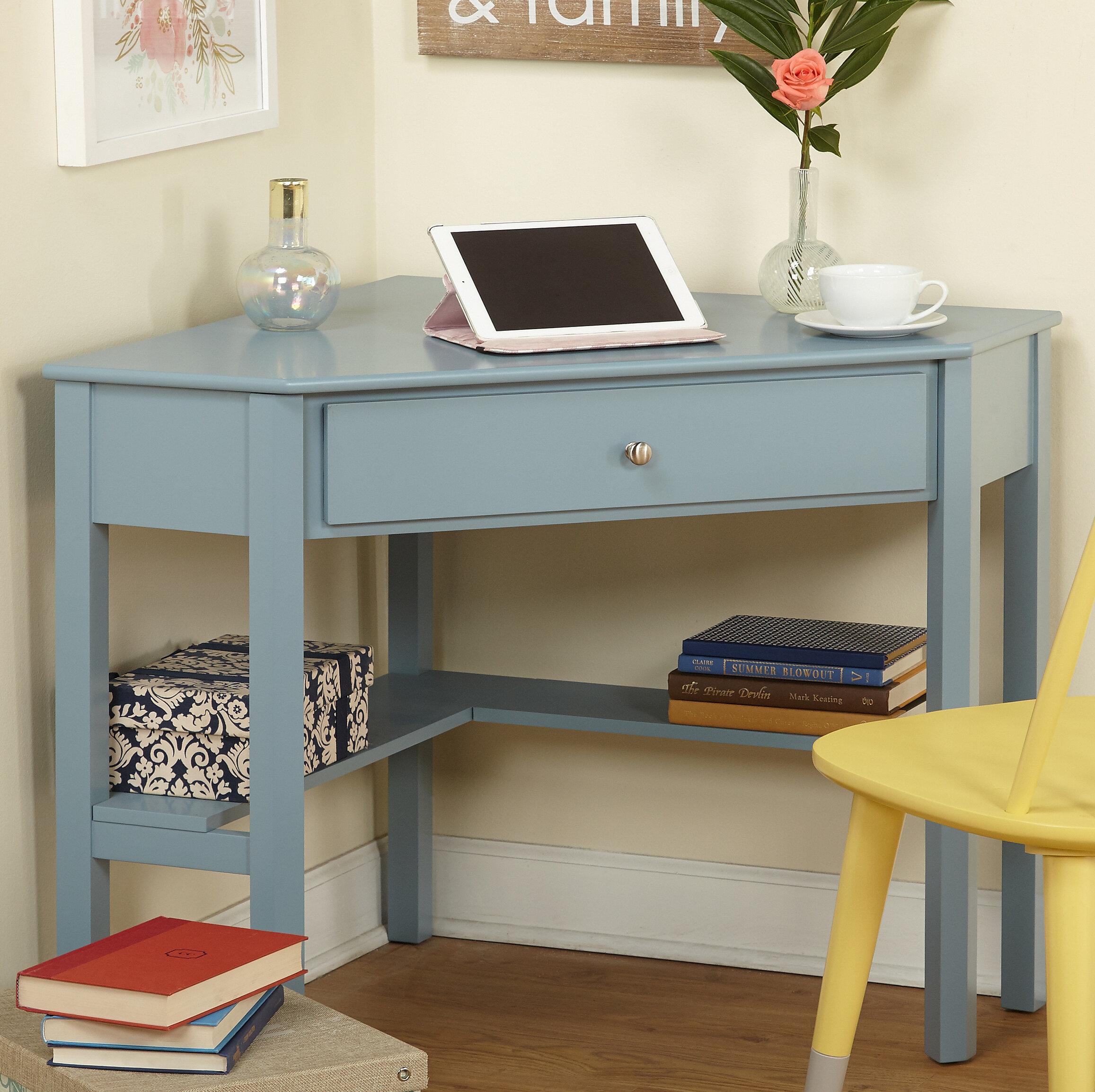 Charlton Home Byrne Corner Desk & Reviews | Wayfair