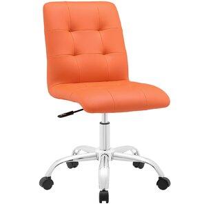 orange office chairs you'll love | wayfair