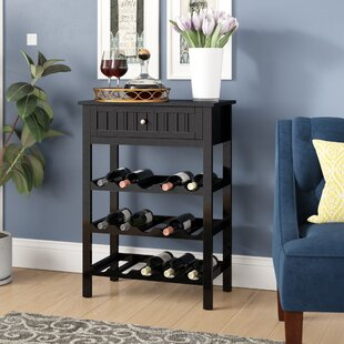 Raabe 15 Bottle Floor Wine Bottle Rack by Darby Home Co