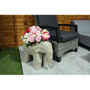 Roisin Ceramic Statue Planter By World Menagerie