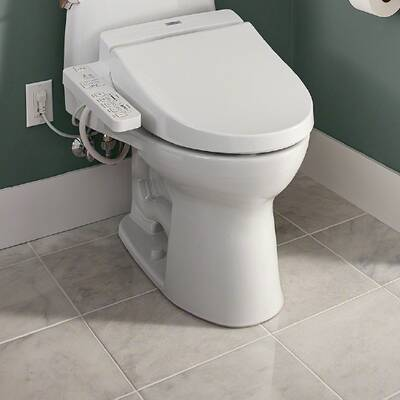 Toto Washlet G400 Integrated Dual Flush 1 28 Or 0 9 Gpf Floor