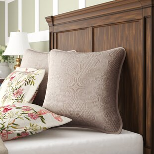 Galiana Elegant Embossed Textured Quilted Square 100% Cotton Pillow Cover (Set Of 2) by Birch Lane™ Heritage Wonderful