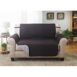 Box Cushion Loveseat Slipcover By Symple Stuff