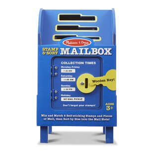 Stamp and Sort Mailbox by Melissa & Doug