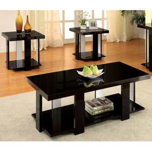 Dunlevy 3 Piece Coffee Table Set