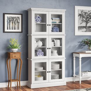 Charlton Home Alyce Display China Cabinet