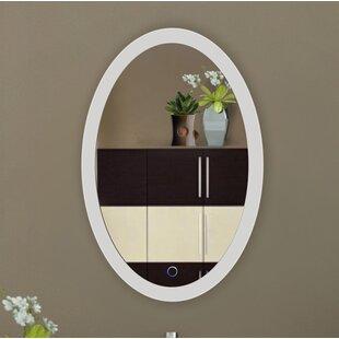 Great choice Nocera LED Lighted Wall Mirror ByBrayden Studio