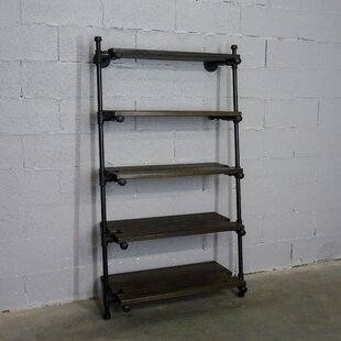 Esmeralda Leaning Etagere Bookcase by 17 Stories