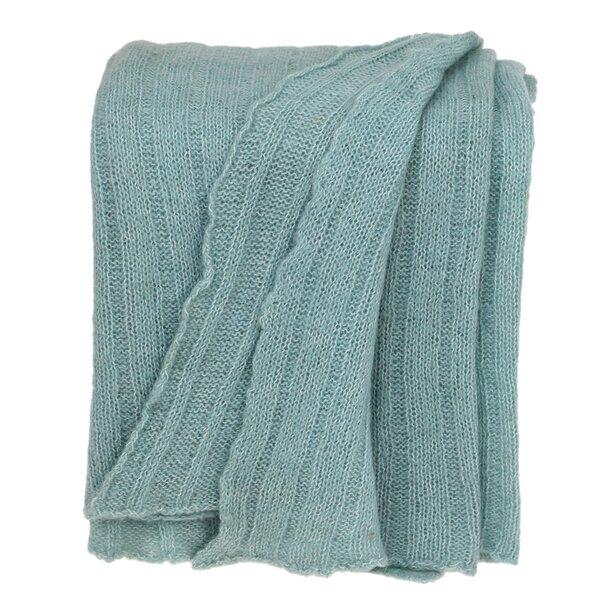August Grove Hussain Self Patterned Woven Handloom Cotton Throw Wayfair