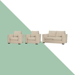 Ceja 3 Piece Sofa Set By Hashtag Home