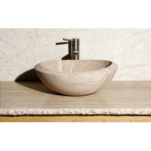 Inexpensive Stone Oval Vessel Bathroom Sink By Allstone Group