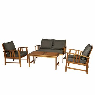 Lesure 4 Piece Seating Group with Cushion