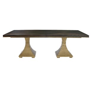 Jet Set Solid Wood Dining Table by Bernhardt #2