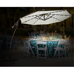 Flavin 9' Patio Cantilever Umbrella by Ivy Bronx Best