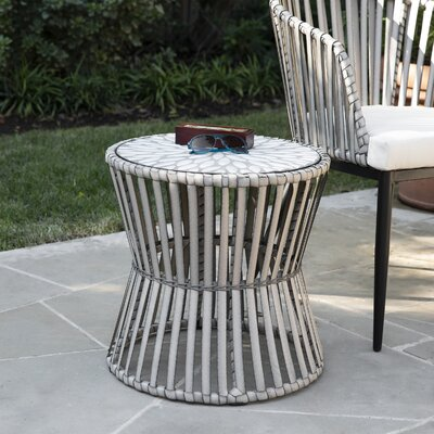 Melilani Outdoor Side Table by Bungalow Rose Fresh