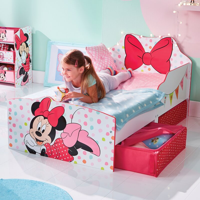 Mickey Mouse Friends Disney Minnie Mouse Toddler Bed Frame With