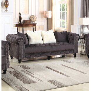 House of Hampton Benigna Chesterfield Configurable Living Room Set