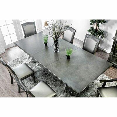 Astoria Grandoberlin Extendable Dining Table Astoria Grand Color Gray Dailymail