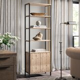 Blonde Etagere Bookcase by Greyleigh™