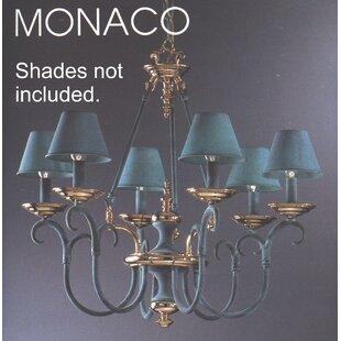 Classic Lighting Salzburg 6-Light Shaded Chandelier