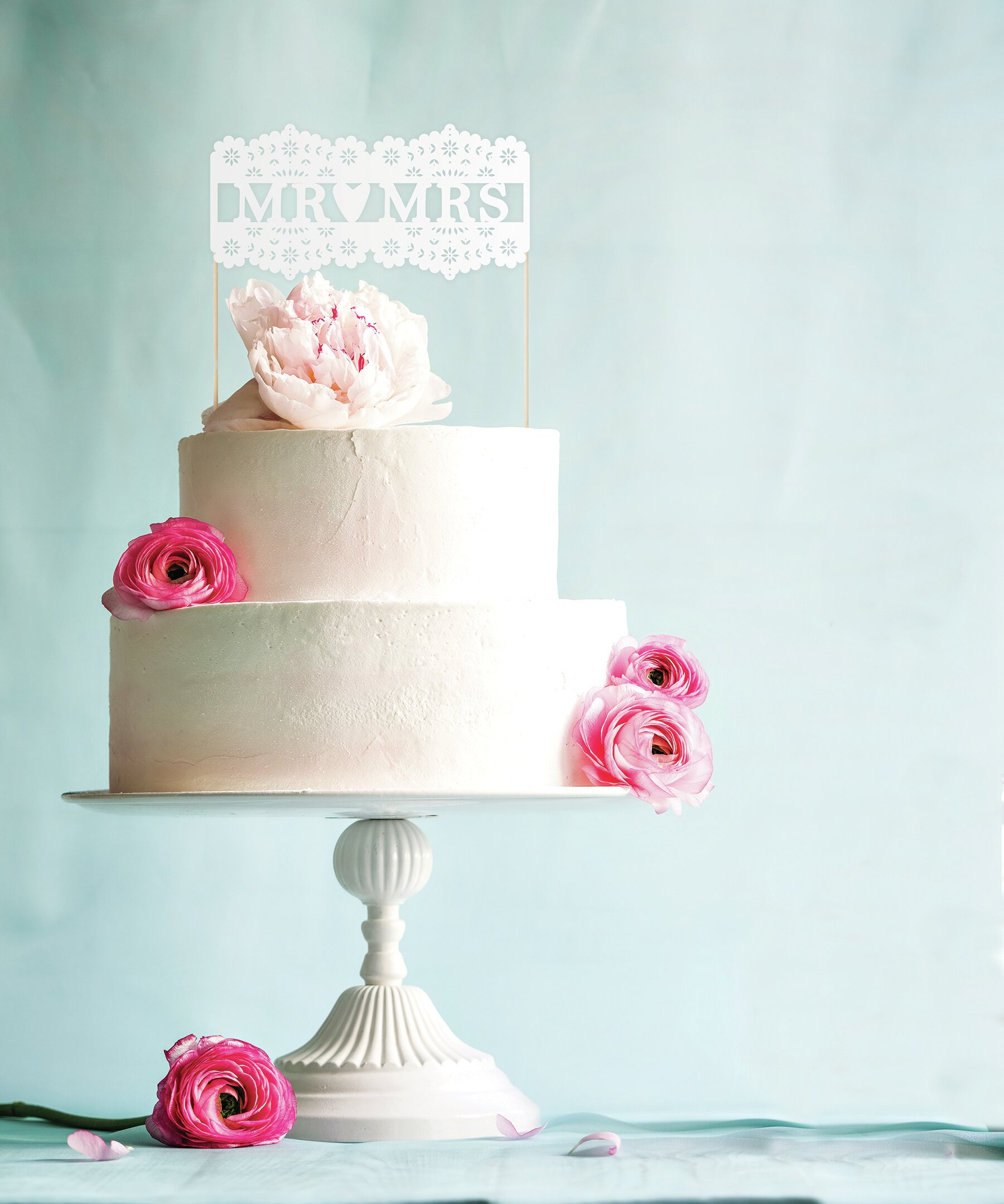NEW GINGER RAY MR /& MR WEDDING CAKE TOPPER BOHO