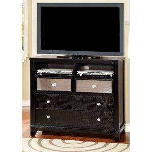 Rogers 4 Drawer Wood Media Chest by Willa Arlo Interiors