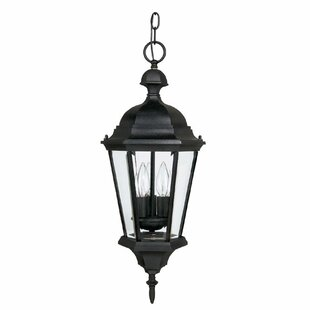 Comparison Hounsfield 3-Light Outdoor Hanging Lantern By Alcott Hill