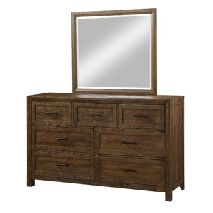 Gracie Oaks Mccart Carmel 7 Drawer Dresser w..