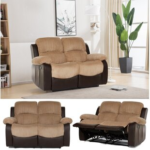 Rousselle 2 Seater Reclining Loveseat By Ebern Designs