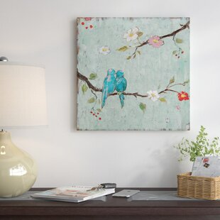 Love Birds Canvas Wall Art Wayfair