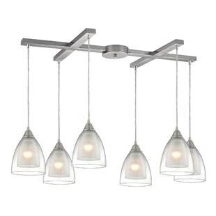 Albany 6-Light Cluster Pendant by Latitude Run