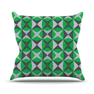 Abstract By Empire Ruhl Outdoor Throw Pillow by East Urban Home