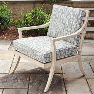 Tommy Bahama Outdoor Misty Garden Patio Chair with Cushion