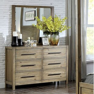Atchison 6 Drawer Double Dresser