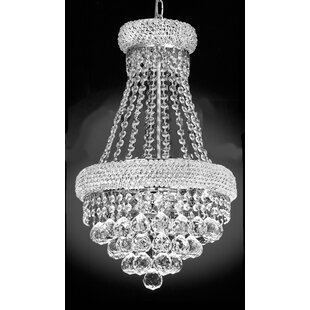 Rosdorf Park Lanza 3-Light Empire Chandelier