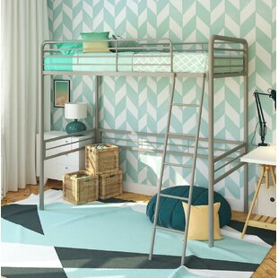 Kent Twin Loft Slat Bed by