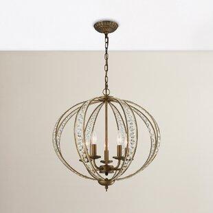 House of Hampton Goethe 5-Light Globe Chandelier