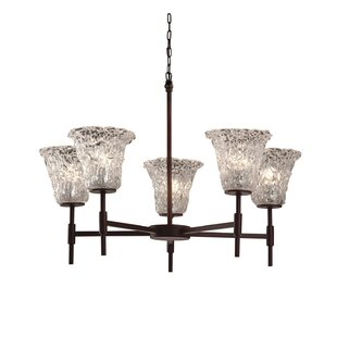 Darby Home Co Kelli 5-Light Shaded Chandelier