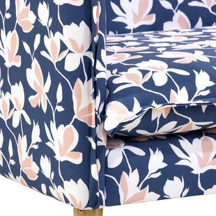 Lentz French Seam Settee by Bungalow Rose Design